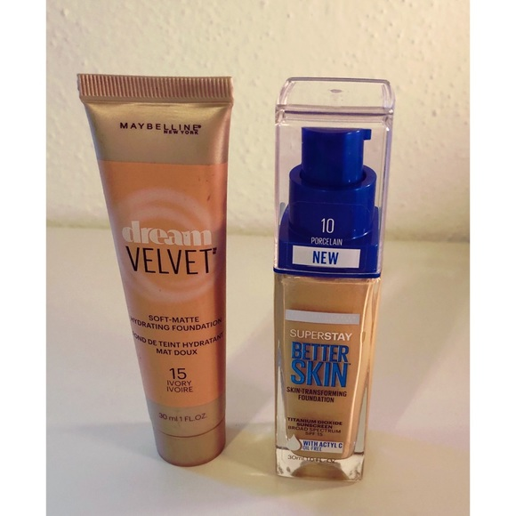 Maybelline Other - NEW Maybelline Foundation Bundle